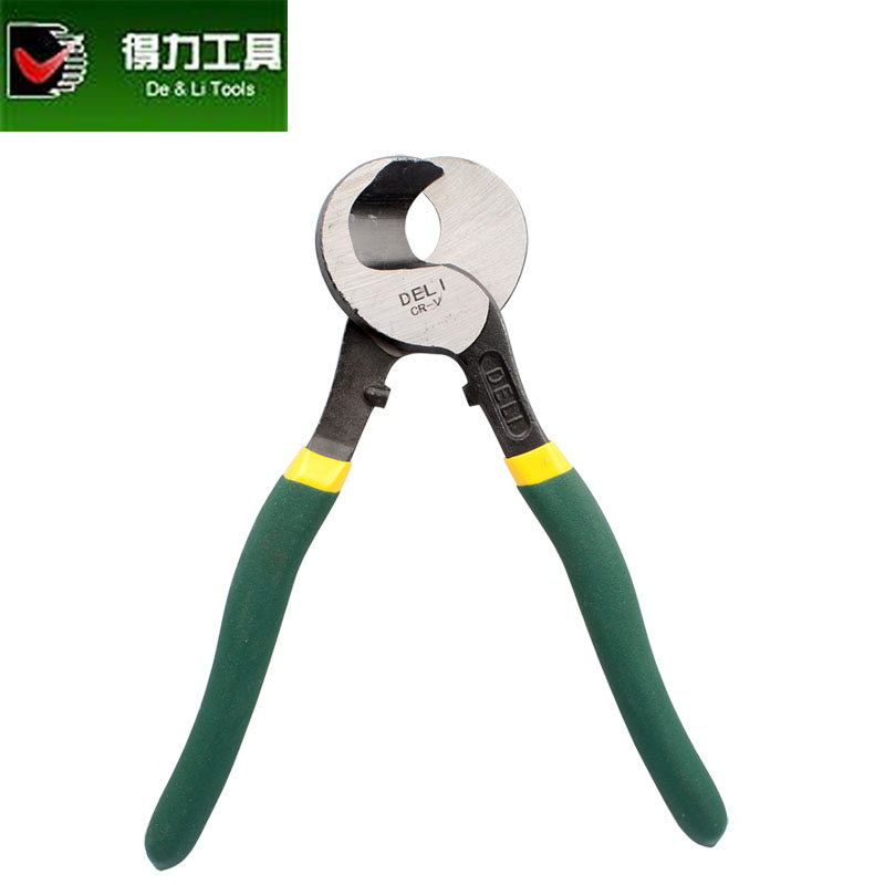 Deli deli cable bulk cable cutter cable cutter scissors hardware tools electrician wire cut dl20138