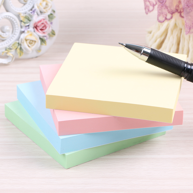 Deli pepsi stickers affixed colored sticky notes posted message sticky note paper paper 76*76mm sticky 7151