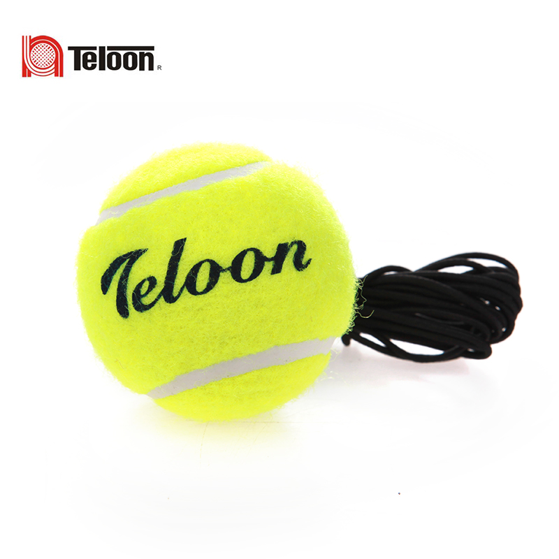 Denon tennis training tennis ball practice balls with rope training tennis with a line single tennis rebound rubber band tennis tennis ball