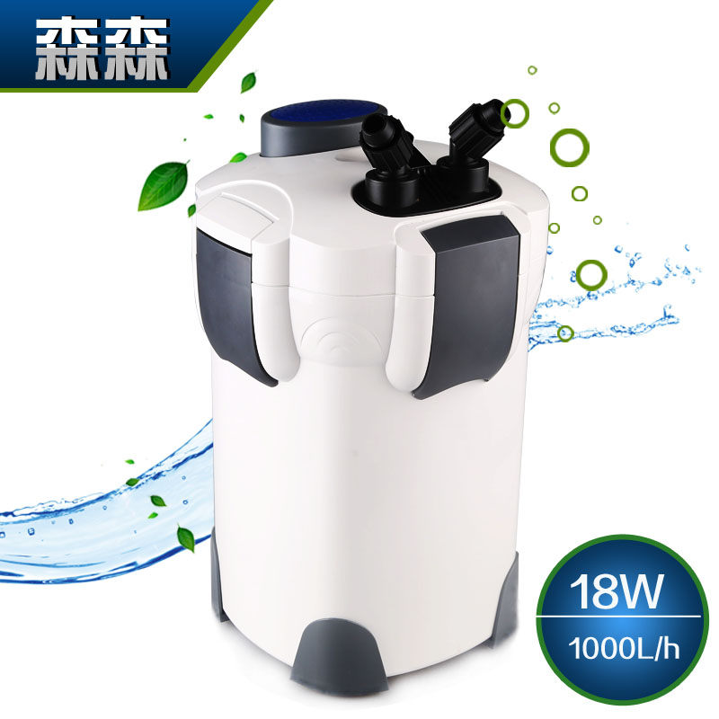 Dense hw-302 outside the cylinder barrel filter aquarium external filter barrel aquarium filter pond filtration equipment