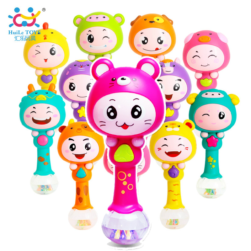 Department of music twelve lunar new year of the dynamic rhythm sticks 0-1-year-old music rattles sand hammer musical toys music bar 817