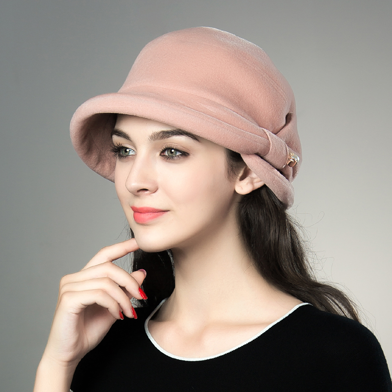 1e8a32a2651ba Get Quotations · Department official hat lady warm winter hat fisherman  pots hat autumn and winter hat korean fashion