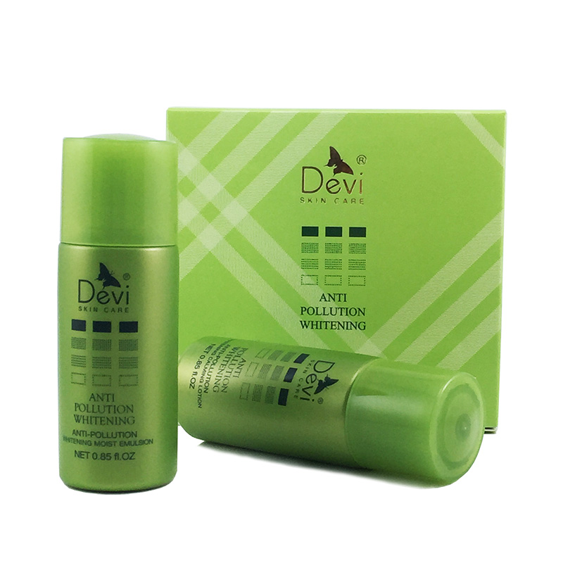 Devi/diana cosmetics contamination series exclusive travel set (lotion + lotion run zi) Each 25 ml