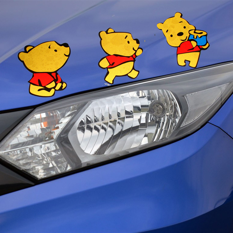 Di figure cartoon stickers car stickers cover scratches stickers affixed to the rear window stickers door stickers cute personalized car stickers decorative