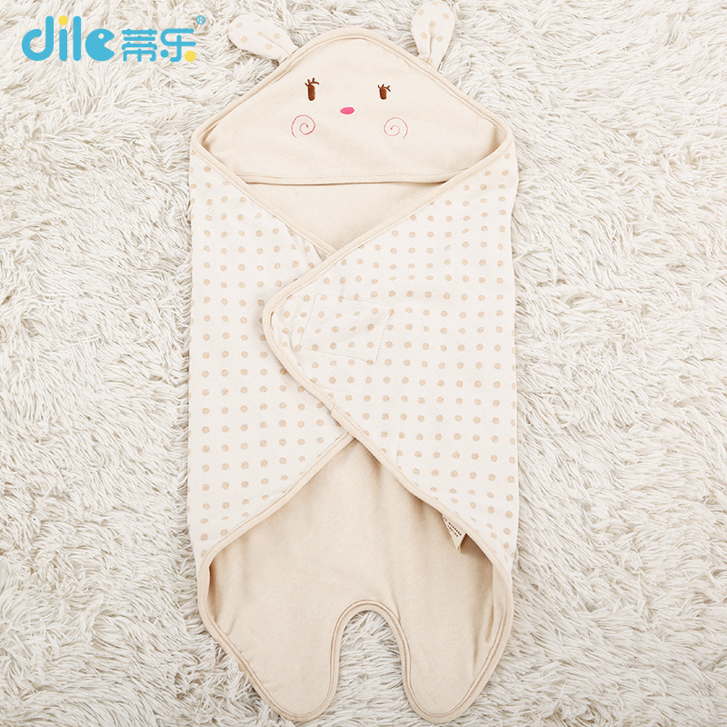 Di le summer baby baby was coated blankets spring and summer thin section of the spring and autumn cotton newborn baby sleeping bags legs summer