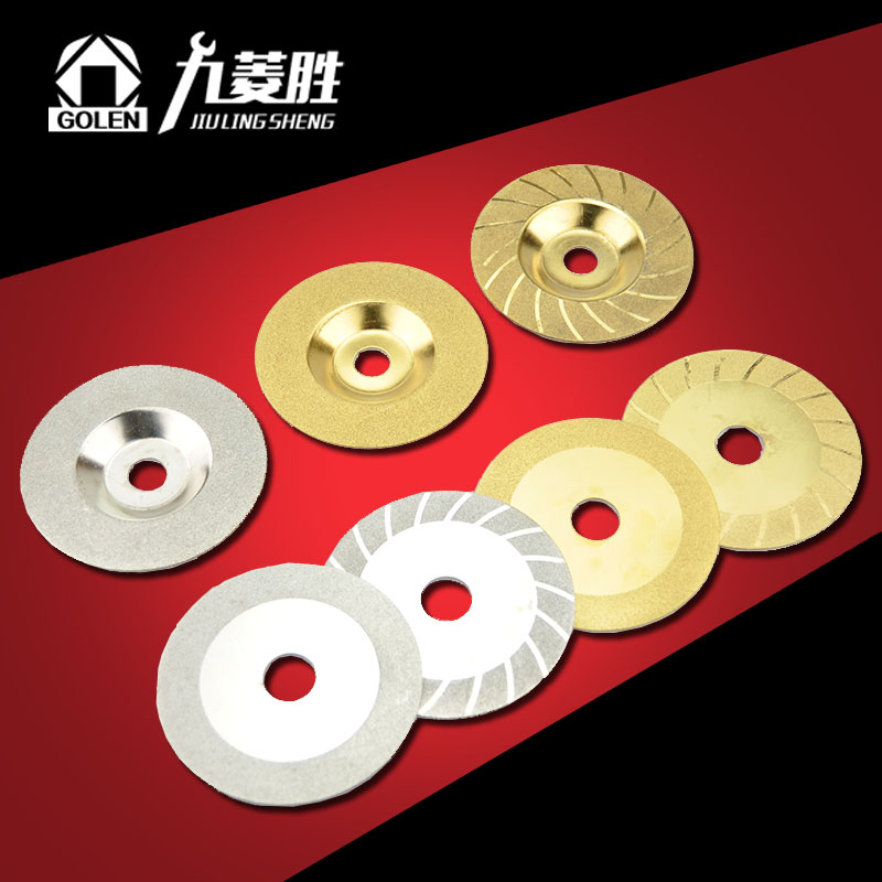Diamond grinding emery glass glass slice glass/tile grinding/polishing/cutting disc disc 100mm