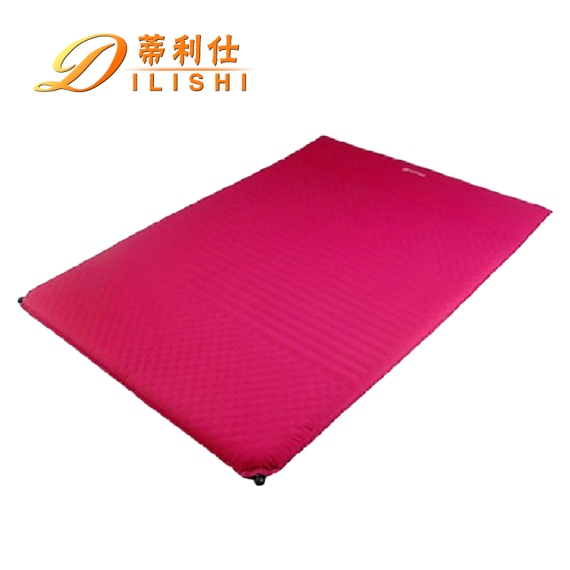 Dili shi double inflatable cushion widened thickened automatic inflatable cushion moisture pad cushion outdoor tent pad