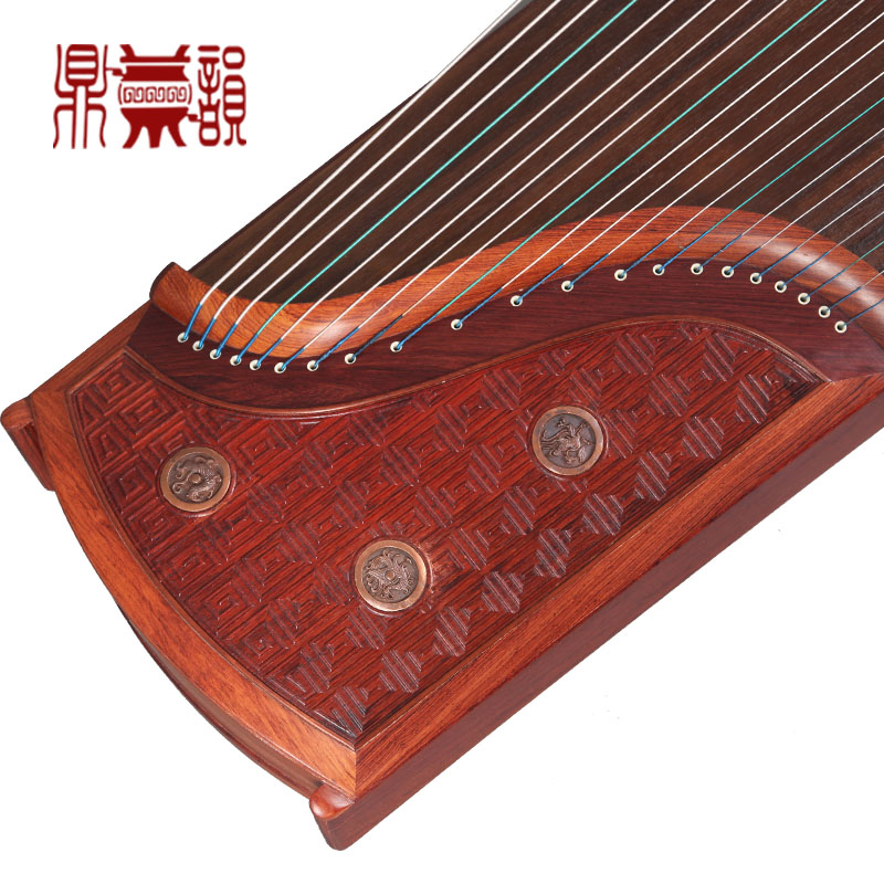 [Ding yun flagship store] 906 high winds righteousness handed down zither zither upscale private custom huang zheng army pro system