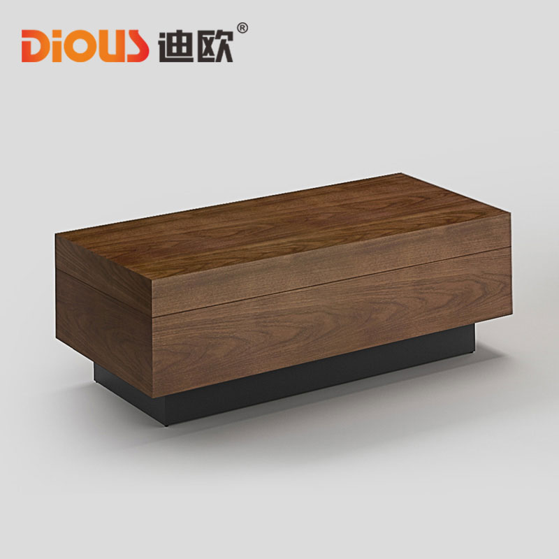 Dio upscale minimalist office parlor to discuss business talks are square rectangular wooden coffee table combination