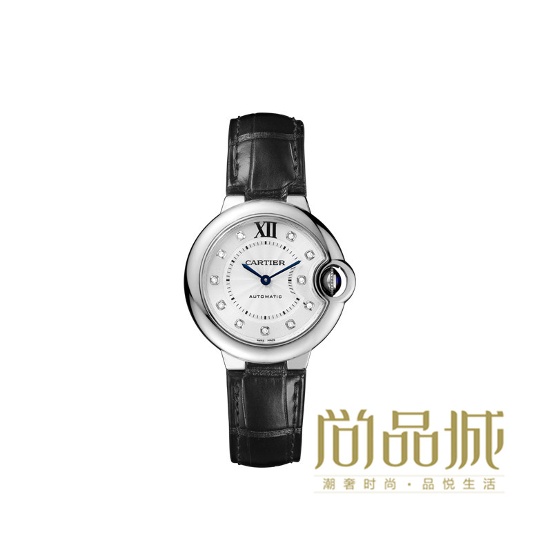 Direct mail authentic cartier cartier 2016 new leather ladies watches ballon wrist table W4BB0009