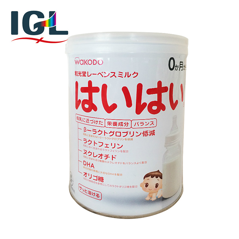[Direct mail] japan wakodo baby infant nutrition formula milk powder imported paragraph 1 850g