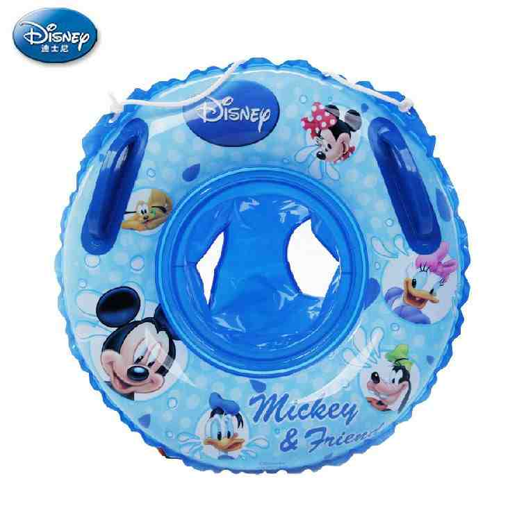 Disney children's swim ring seat baby sitting circle armpit circle of children swimming laps thick security years