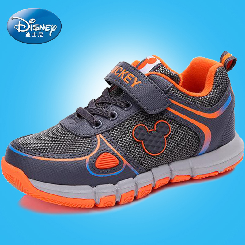 Disney's 2016 autumn and winter big virgin boys sneakers casual shoes children's shoes casual shoes student shoes running shoes tide