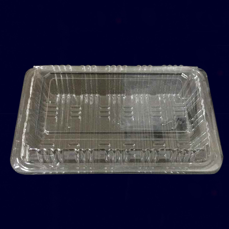 Disposable sushi box lunch box lunch 10 fast food lunch box lunch box packing box with lid plastic food boxes