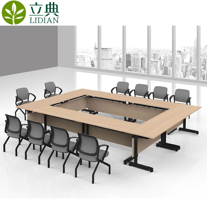 Get Quotations · Dongguan Mobile Folding Training Table Long Table Activity  Table Easy Folding Conference Table Study Table Training Part 54
