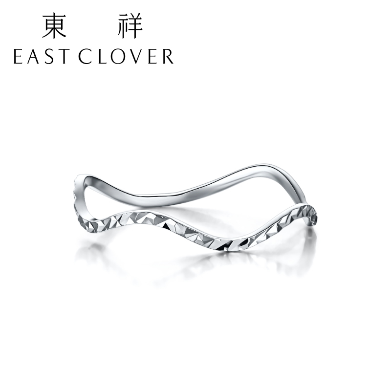 Dongxiang female models pt950 platinum ring platinum ring tail ring female platinum platinum jane about rings love ripples