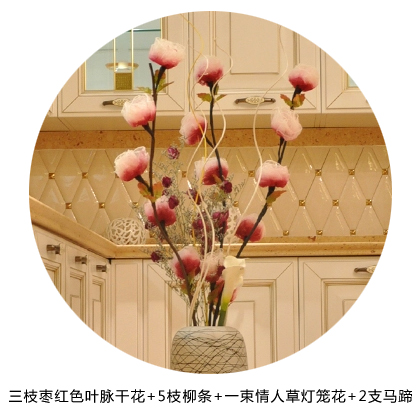 Donovan upscale artificial flowers artificial flowers decorative home accessories modern minimalist vein dried flowers european marriage room ornaments
