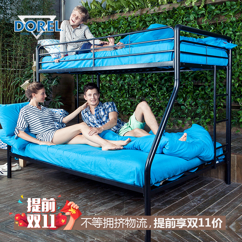 Dorel music yazhou bed children bed bunk bed metal frame bed bunk bed combination of boys and girls mother bed