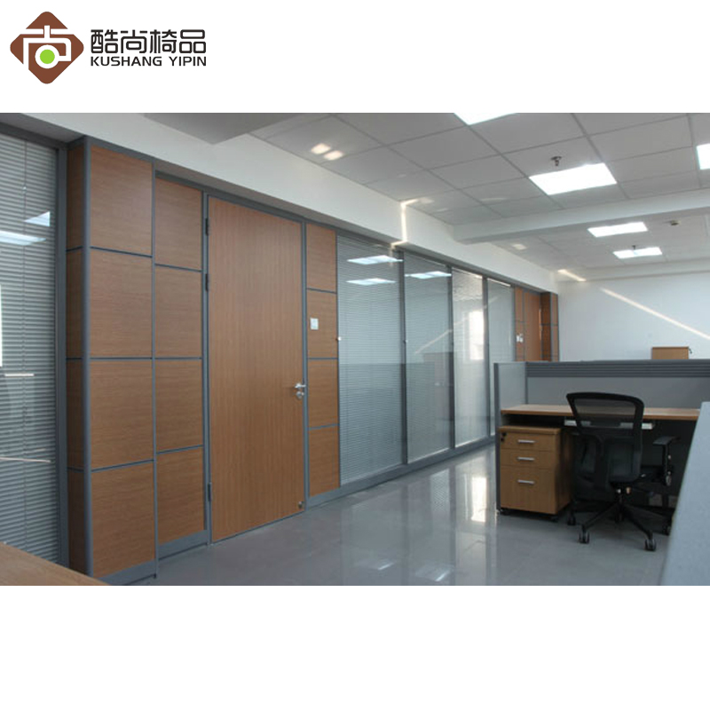 Double glass partition wall high partition office wall partition wall partition wall soundproof partition high compartment aluminum alloy