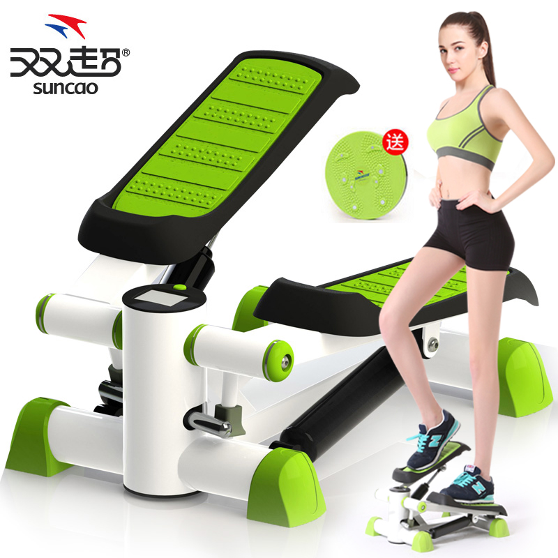 Double super authentic silent steppers multifunction foot climbing exercise to lose weight home fitness equipment to lose weight is
