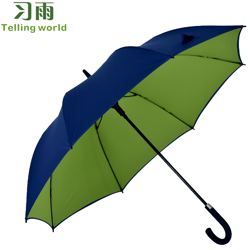 Double xi rain skillet automatic umbrella umbrella umbrella outdoor umbrella curved handle umbrella automatic umbrellas umbrella rain or shine dual