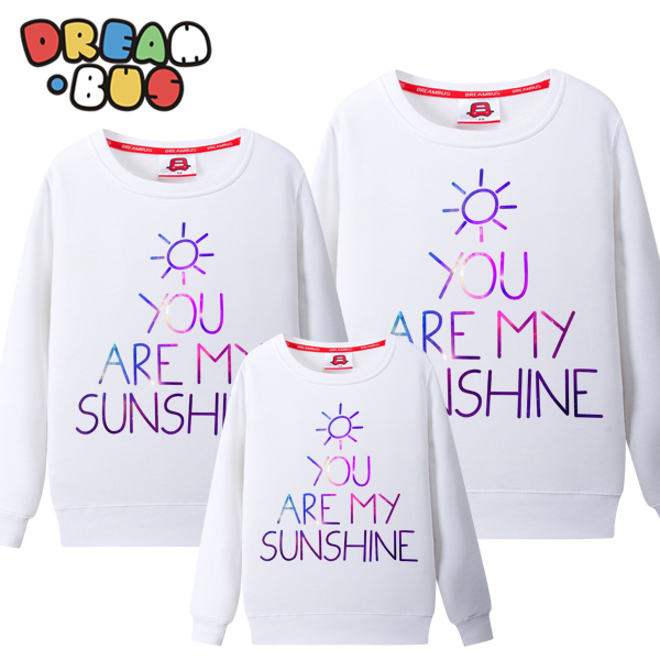 Dream bus family fitted new fall and winter clothes you are my sunshine a three round neck sweater qzz 106