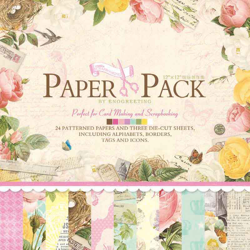 Dreamday wedding gift decorative paper handmade paper art paper wrapping paper diy colorful creation set ps007