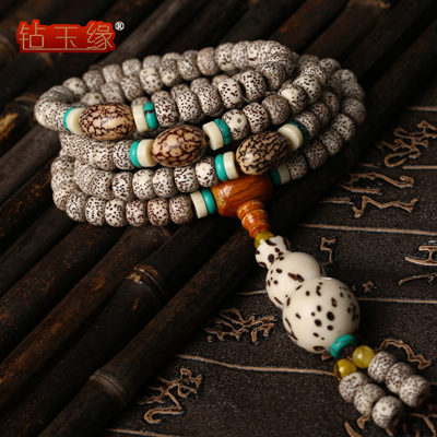 Drill edge pure lunar January 108颗bracelet xingyue pu tizi 108 pu tizi beads bracelets male ms. necklace