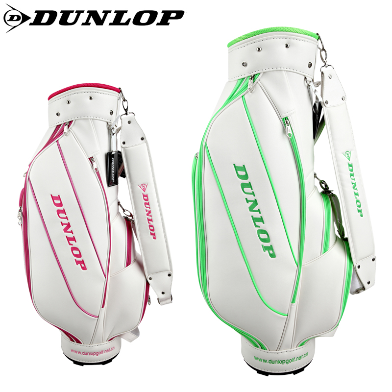 Dunlop/shidenglupu ms. barrel rod professional golf bag golf bag golf bag grade pu