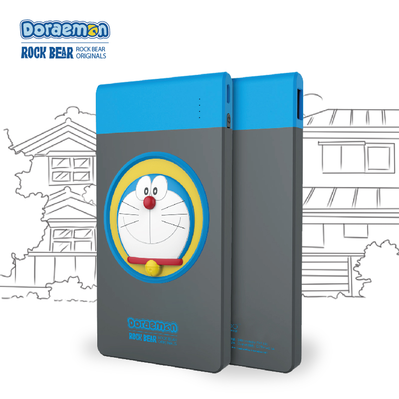 Duo a dream mobile power 6000 mA ultrathin polymer mobile tablet universal portable charging treasure genuine