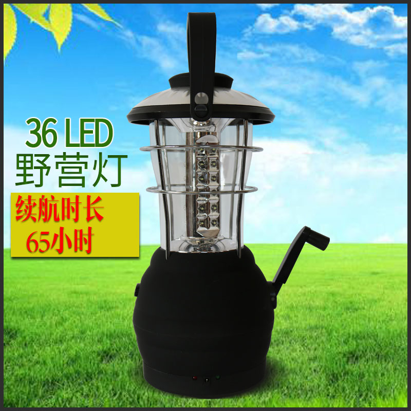 Dynamo camping light camping lamp outdoor lighting portable emergency lighting tent camp lights led lights