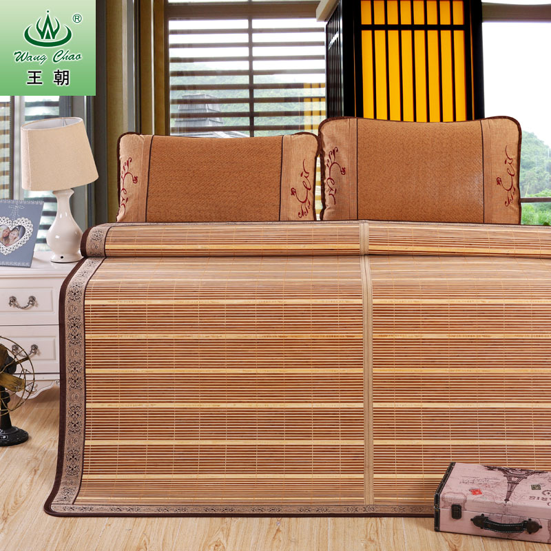 Dynasty mat mats and chairs 1.8 m 2 m 2.2 m double mat bamboo and rattan seats student seats folded double face Seat