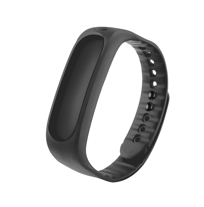 E02 smart smart wristband bracelet sports watch with 5 color colorful accessories silicone comfort sweatband