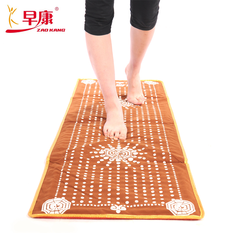 Early kang health acupressure foot massage cushion foot blanket mat cobblestone zi at the end of foot massage pad to go blanket JN1