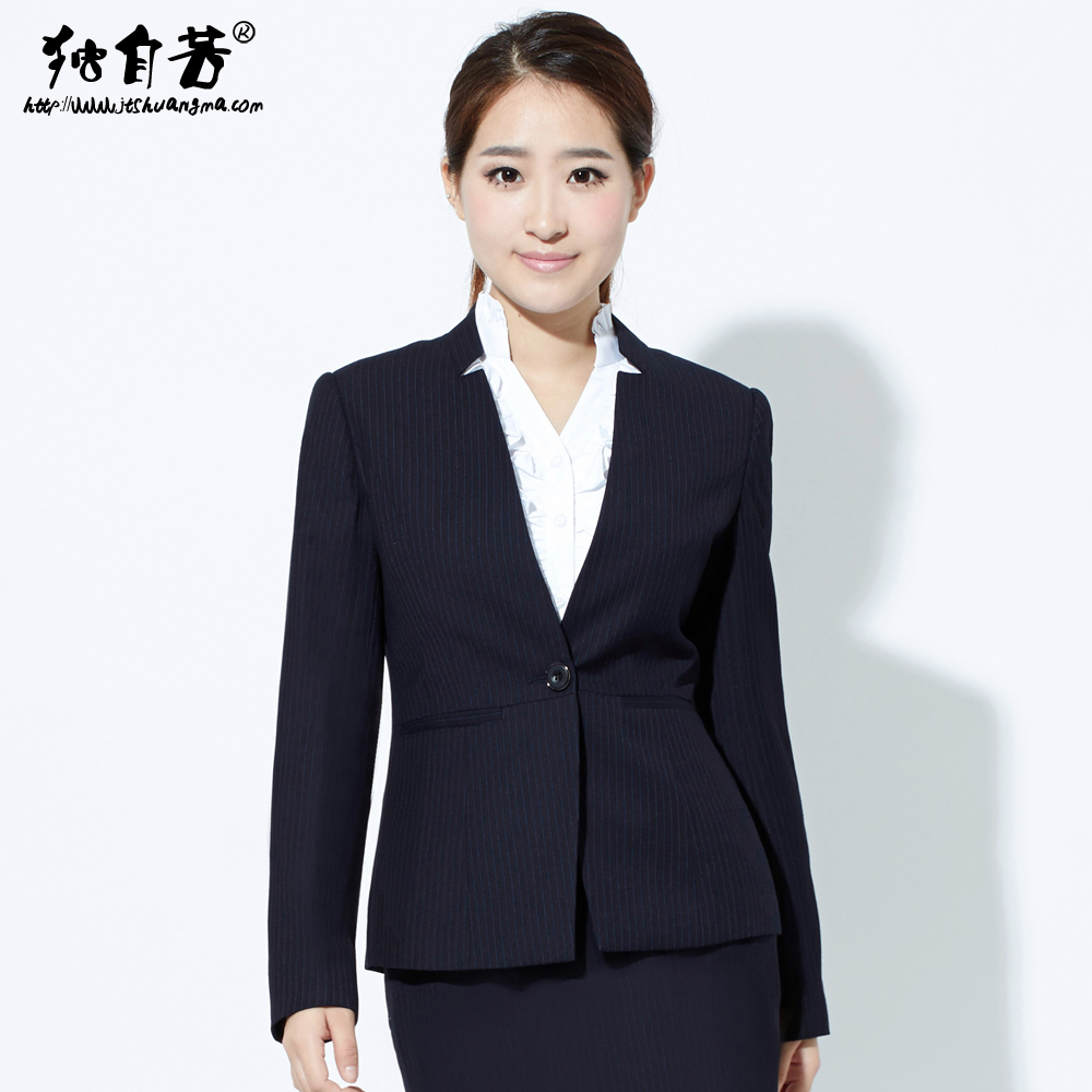 Early spring suit women wear overalls ladies dress suit overalls interview dress suit collar small suit