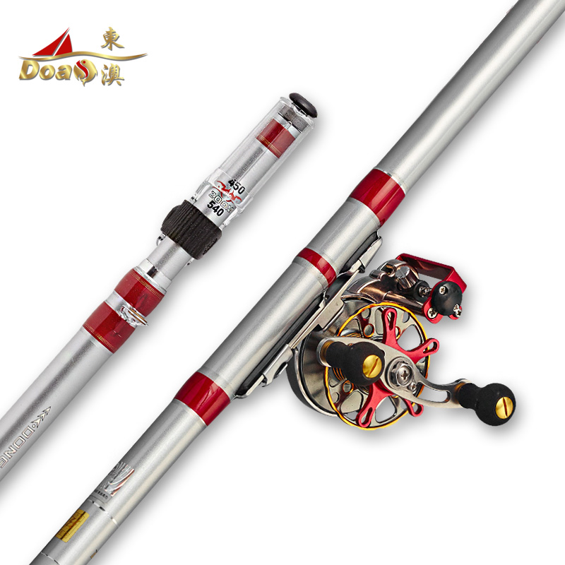 East australian fishing rod pole position before playing pole 5.4 6.3 m taiwan fishing rod superhard carbon ultralight fishing rods fishing tackle set special