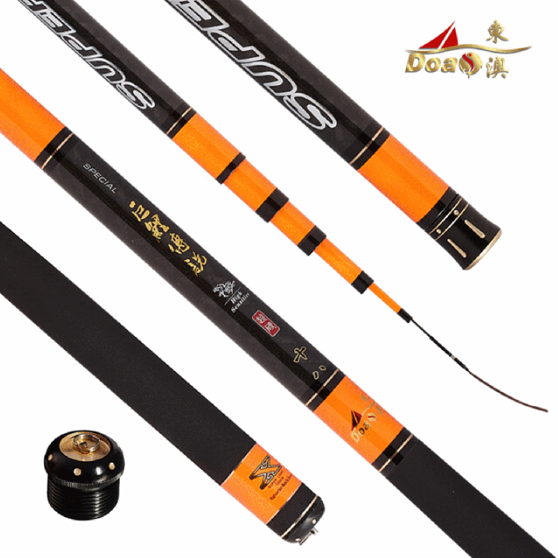 East australian fishing rod superhard black pit carp giant carp fishing rod pole taiwan legendary black sticks of high carbon superhard tone hand pole pole