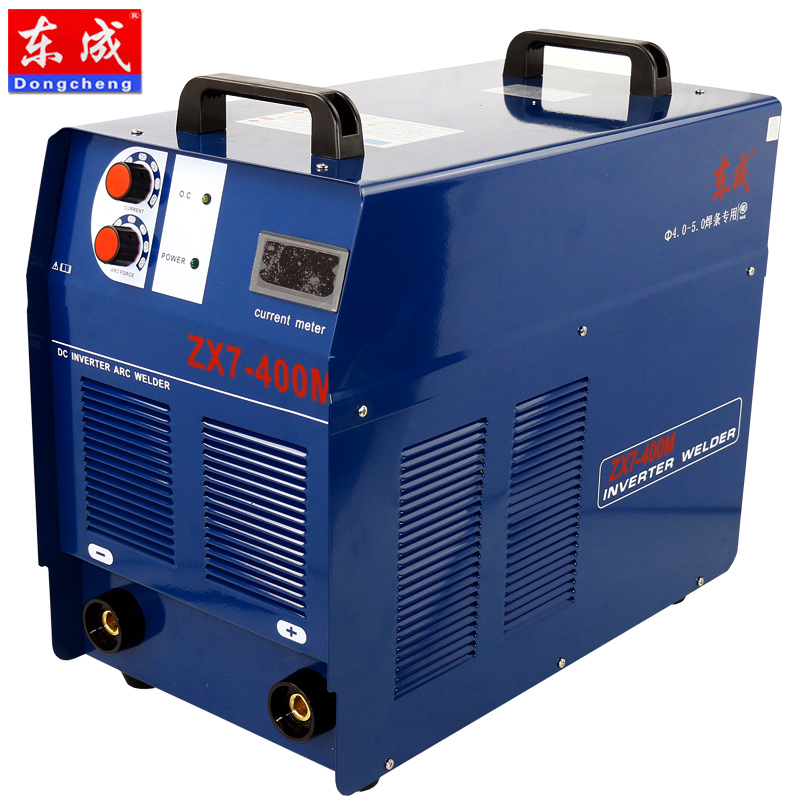 East into electric welding machine welder ZX7-400M v industrial three-phase handmade electric welding machine welding equipment to ensure genuine