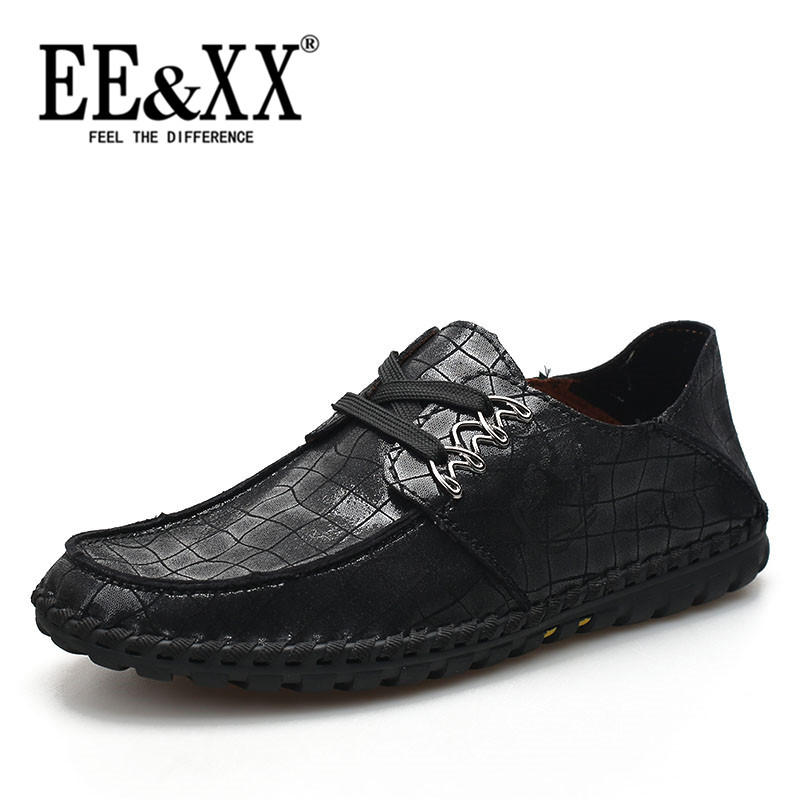 Eexx new lace round flat with 2016 to help low wear and men's business casual shoes driving shoes fashion 6160