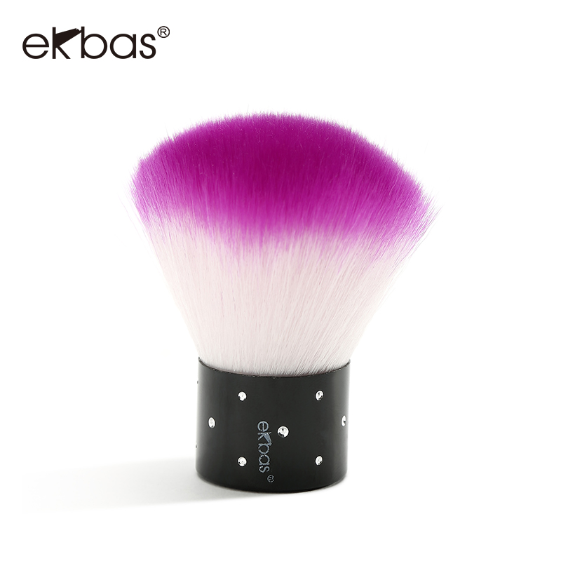 Ekbas nail tool kit nail supplies nail manicure polish makeup brush to remove dust brush dust brush wool brush