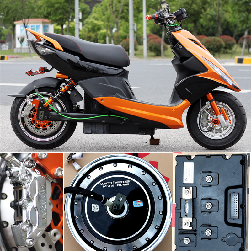 Electric motorcycle wildfire rsz sinusoids wolters kluwer force to strengthen the upgraded version of the us version of 13 inch electromotor sanyang oil to electricity