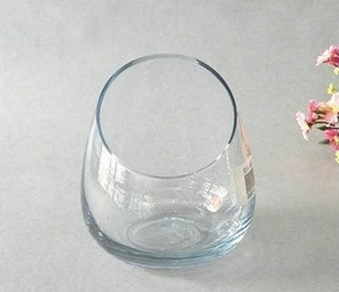 Ikea vase transparent great image is loading with ikea - Grand vase en verre transparent ...
