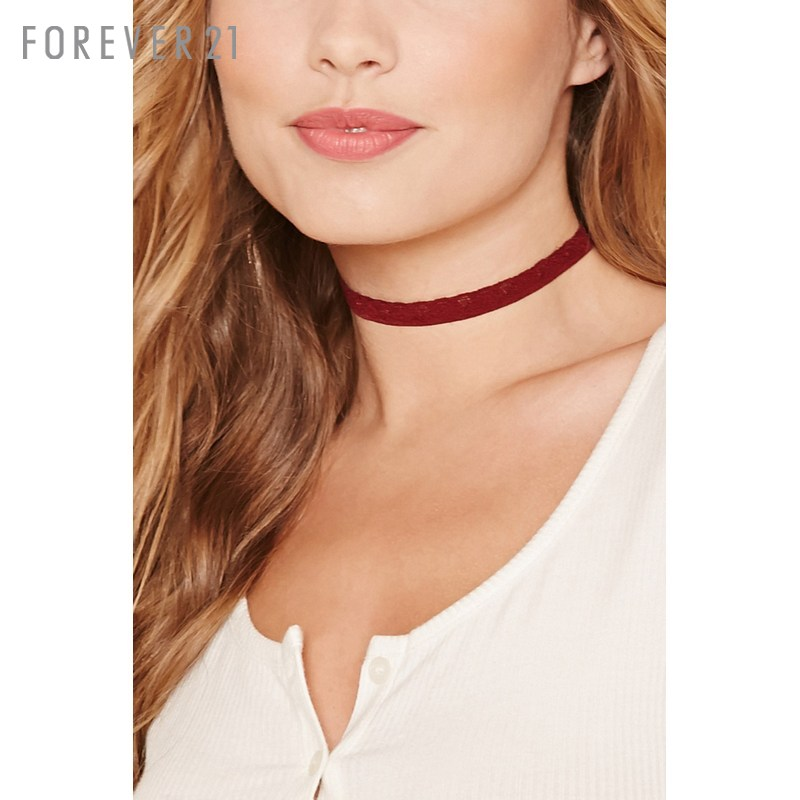 Elegant lace choker necklace necklace forever21