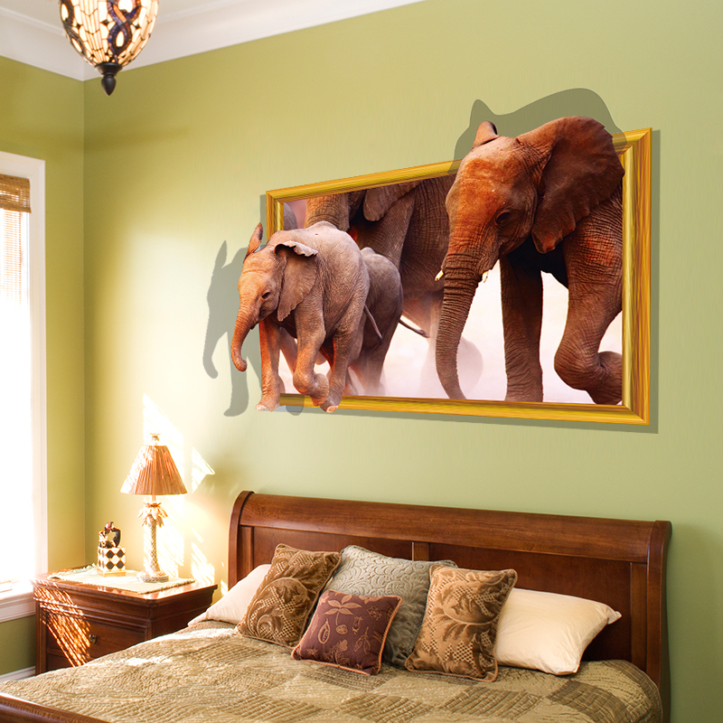 China Elephant Wall Stickers, China Elephant Wall Stickers Shopping ...