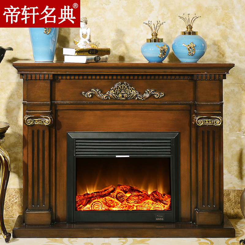 Emperor xuan code 1.5 miou fireplaceç±³american wood fireplace decoration cabinet heating heating fireplace core