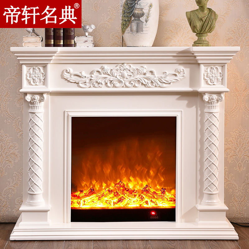 Emperor xuan code continental fireplace decoration cabinet 1.2/1.5/1.8/2 m led heating fireplace mantel decoration Stoves