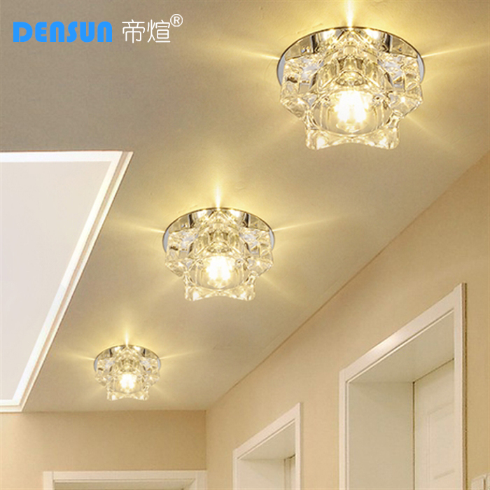 Emperor xuan led crystal aisle lights corridor lights spotlights living room ceiling lights porch lights background wall