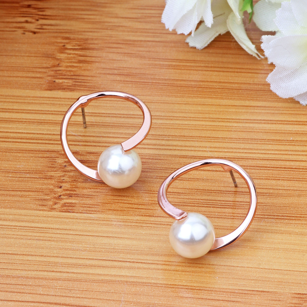 Enchantment still earrings female earrings pearl earrings korean fashion earrings hypoallergenic earrings silver jewelry earrings korean temperament wild