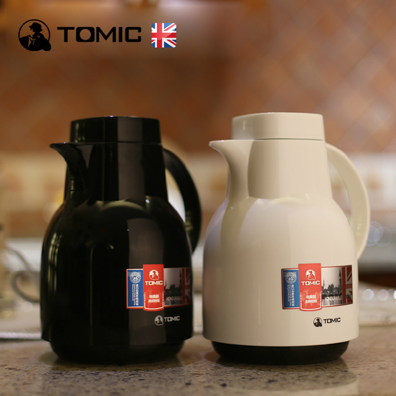 English tomic us special engraved male ms. fashion home insulation pot thermos thermos glass liner