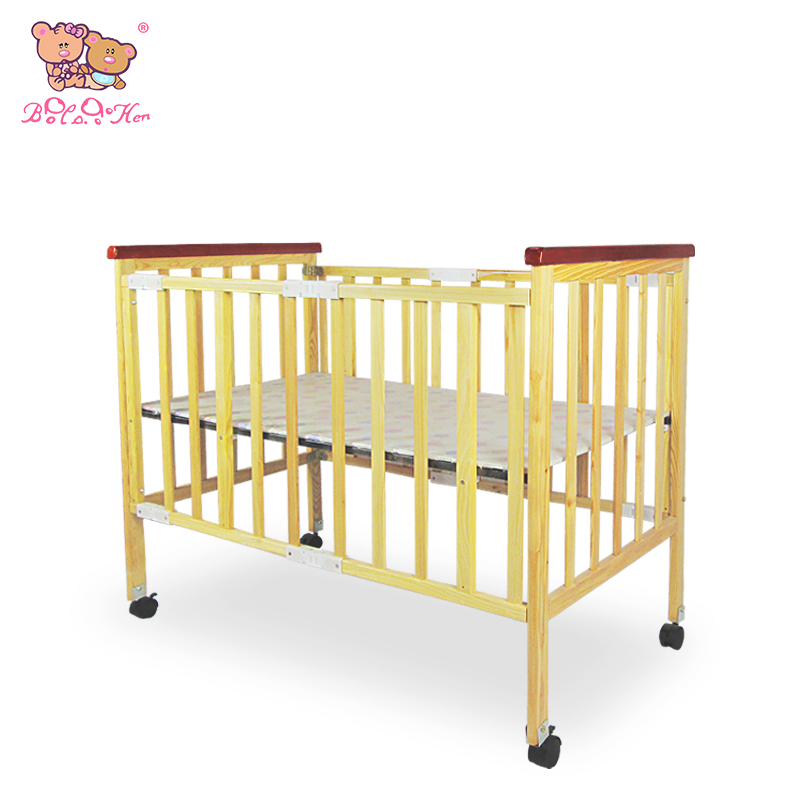Environmental protection without paint multifunction baby crib luxury crib baby bed